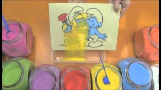 How to make sand painting SD