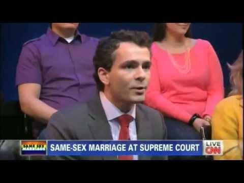 Ryan Anderson debates gay marriage with Piers Morgan
