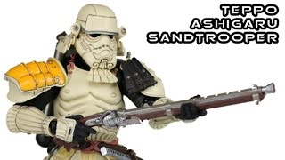 Movie Realization Ashigaru Storm Trooper Star Wars Action Figure Review