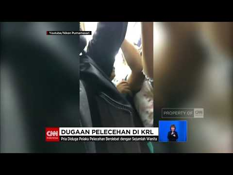 Viral! Dugaan Pelecehan di KRL