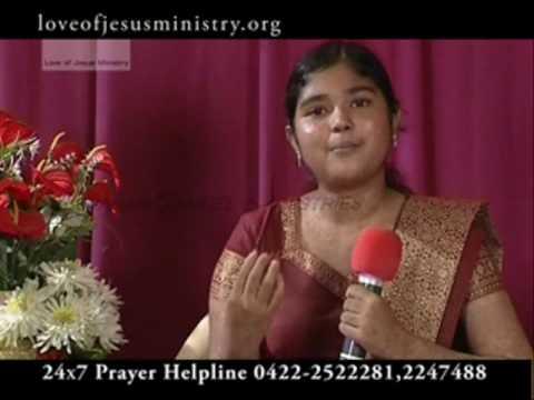 Miracles of Jesus | Christian Supernatural Miracle Testimony of  Sindhuja