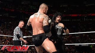 Roman Reigns vs. Randy Orton: Raw, May 4, 2015