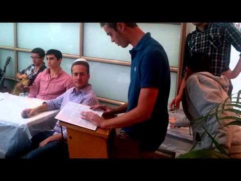 Yaakov Spirn Making a Siyum on Mesechta Megillah