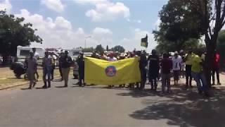 Kill the boer kill the farmer  Protesters chant outside HoërskoolOvervaal