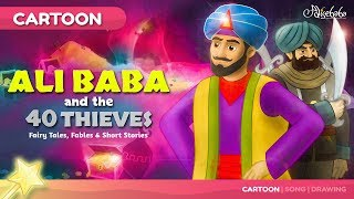 Ali Baba and the Forty Thieves | Cartoon Fairy Tales Bedtime Stories for Kids