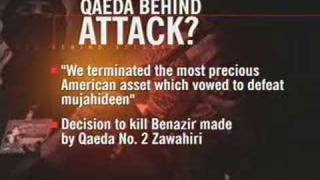 Al-Qaida claims Bhutto attack