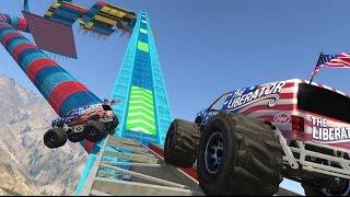 GTA Race*2: MONSTER TRUCK PARKOUR
