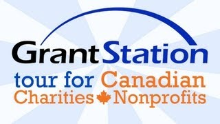 GrantStation Tour for Canadian Nonprofits and Charities