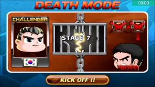 Head Soccer Challenge - Death Mode with South Korea Stages 1-10 (Part 7#)