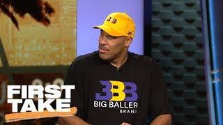 LaVar Ball discusses Big Baller Brand