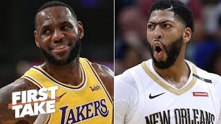 Anthony Davis will be the best teammate LeBron ever had – Max Kellerman | First Take