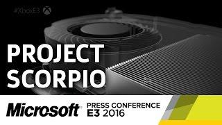 Project Scorpio Announcement - E3 2016 Microsoft Press Conference