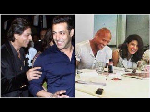 Shahrukh Wants Salman To Do A Cameo   Priyanka Wants Dwayne To Come To India