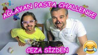 AĞLAYAN PASTA CHALLENGE - AĞZIMIZ BURNUMUZ PASTA OLDU (CEZA SİZDEN!!) - Eğlenceli Çocuk Videosu