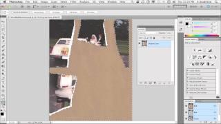 InfiniteSkills | Photo Restoration With Photoshop Tutorial | Reassembling Torn Photos
