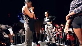Girl on Girl Action in Twerking Contest