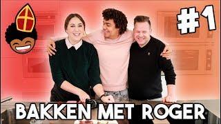 GEHEIME RECEPTEN VAN SINTERKLAAS MAKEN MET MARIE & ROGER VAN DAMME!!! 😋🍪 | Bakken met Roger #1