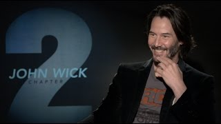 JOHN WICK 2 interviews - Keanu Reeves, Laurence Fishburne, Common - The Matrix