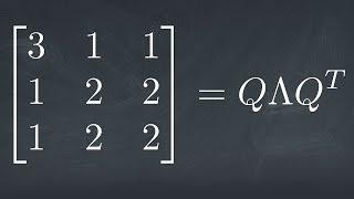 A 3x3 Symmetric Eigenvalue Decomposition in under 3 Minutes!