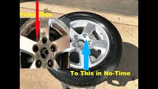 OLD SCHOOL Wheel/Rim Re-Conditioning..YOU CAN DO THIS !