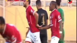 اهداف النادى الاهلى امام جولدى 4-0 مباراة ودية