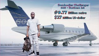 DAVIDO 's #9.77 Billion New Private Jet in 2018 (Full interior & Exterior Video)