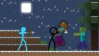 Animation Vs. Minecraft [AVM Shorts| Stickmen Vs. Minecraft Fan Made]