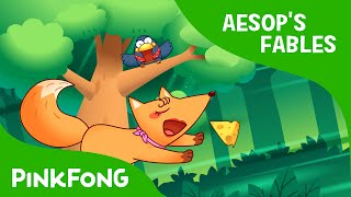 The Crow and the Fox | Aesop's Fables | PINKFONG Story Time for Children