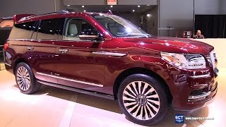 2018 Lincoln Navigator - Exterior and Interior Walkaround - Debut 2017 New York Auto Show