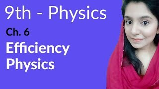 Matric part 1 Physics, ch 6, Efficiency Physics - ch 6 Work and Energy - 9th Class Physics
