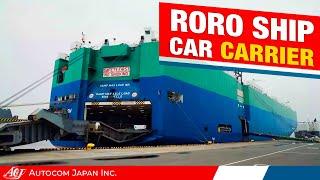 """Jasper Arrow""  vehicles carrier( RO-RO) by Autocom Japan - Used Car Exporter"
