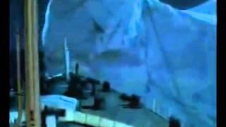 Titanik buz dağına çarpma sahnesi