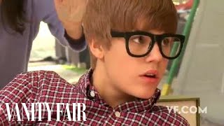 Justin Bieber - Behind the Scenes of His Vanity Fair February 2010 Cover Shoot | Vanity Fair