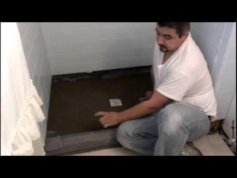 Como reparar el piso de un baño