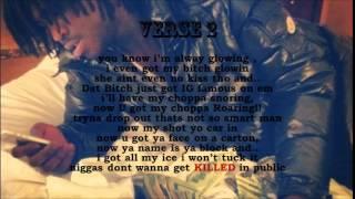 CHIEF KEEF - LUCKY BASTARD  onscreen lyrics video ( ON SCREEN LYRICS )