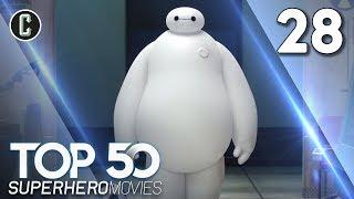 Top 50 Superhero Movies: Big Hero 6 - #28