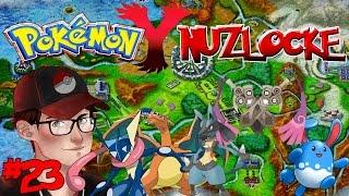 Pokemon Y Nuzlocke - Fire and Frost - Episode 23!