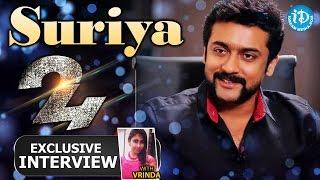 24 Movie || Actor Suriya Exclusive Interview || Talking Movies with iDream #157 | #24 Movie