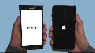 iPhone 8 Plus vs Sony Xperia XZ Premium Speed Test!
