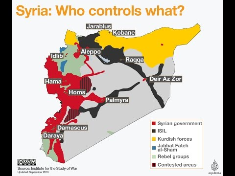 Syrian War Explained in Details  