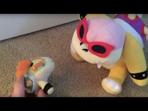 Super Plush Mario The Many Beatings of Bowser Jr