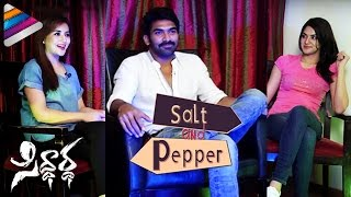 Ragini and Sakshi Chowdary about Kissing | Salt & Pepper Interview | Sagar | Siddhartha Movie