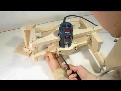 Building the 3 D pantograph
