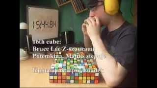 Maskow: Multiblindfold 27/27, 47:51.09