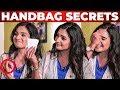 Sanitary Pad Inside Actress Sharanya Handbag | Nenjam Marappathillai | What