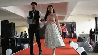 Ramp walk on Bollywood Theme during Fresher Party