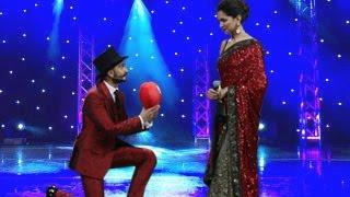 Ranveer Singh PROPOSES to Deepika Padukone : IIFA Awards 2015