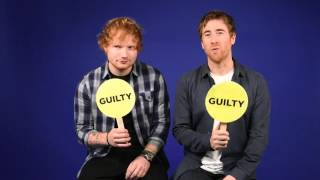 Ed Sheeran and Jamie Lawson play Never Have I Ever