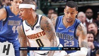 Denver Nuggets vs Dallas Mavericks - Full Game Highlights | February 22, 2019 | 2018-19 NBA Season