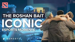 The MOST Iconic Esports Moments: The Roshan Bait - NTH vs. EG, DreamHack Winter 2012 (Dota 2)